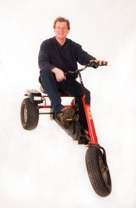 Ich auf Dreirad Dino (3)