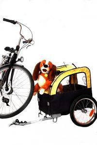 Rad mit Hundeanhänger (3)