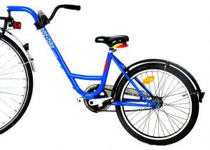 Rad mit Nachläufer